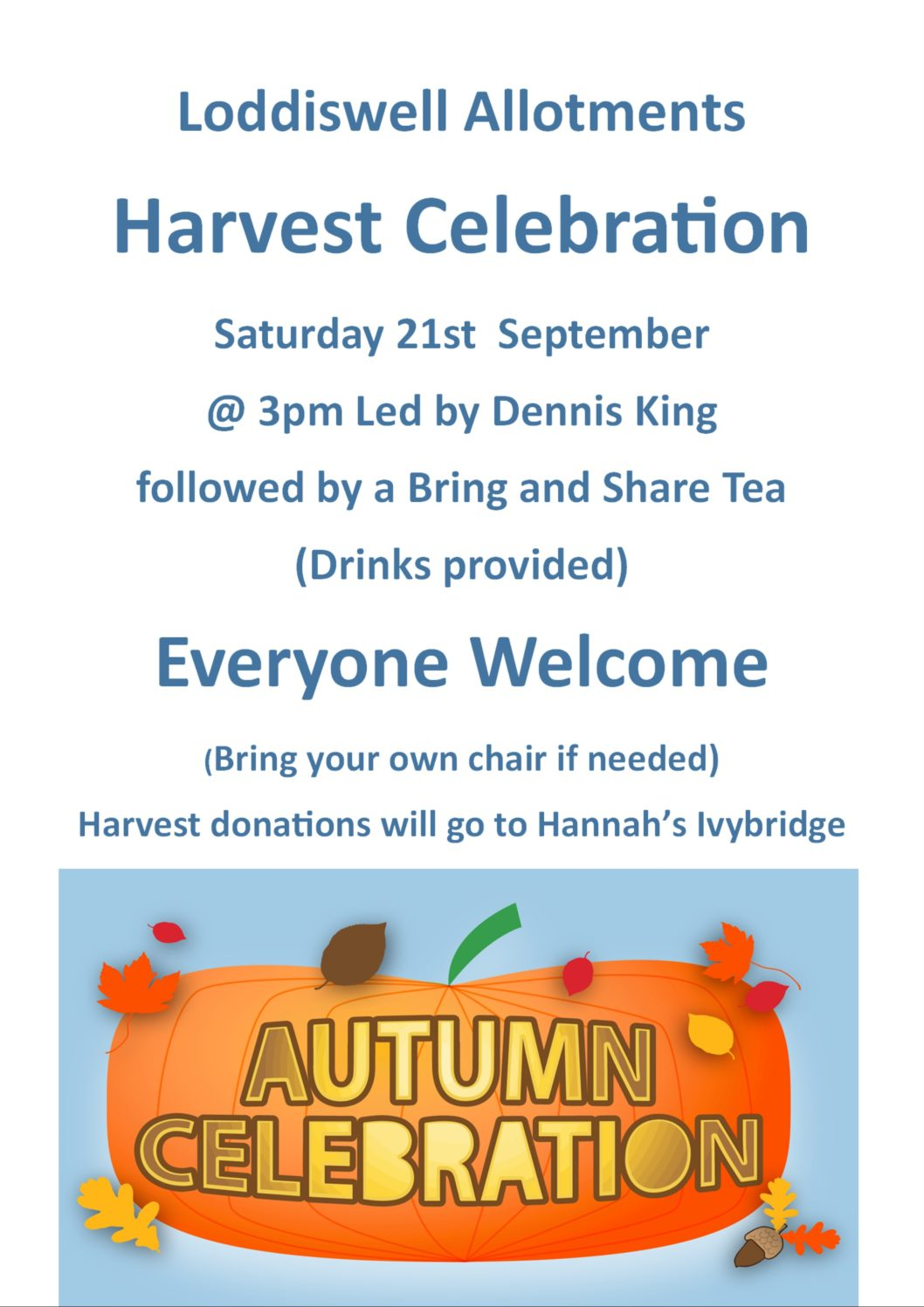 Harvest Celebration - Loddiswell